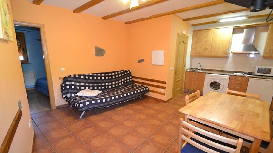 Salón cocina en Doña Petra