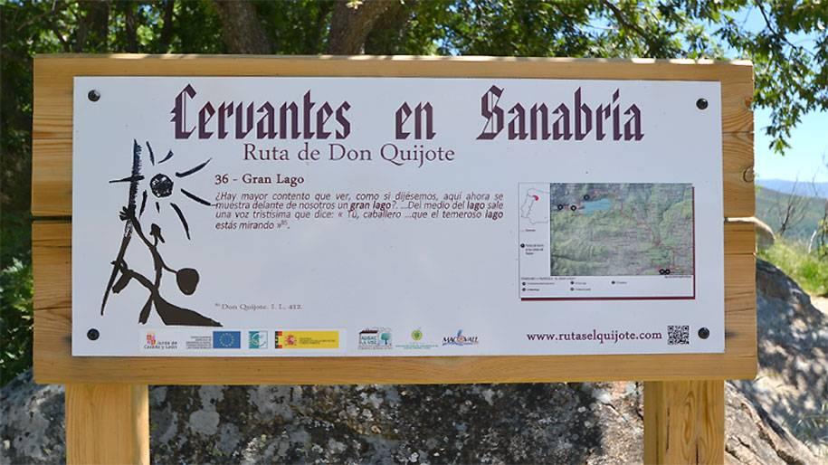 Ruta de Cervantes en Sanabria