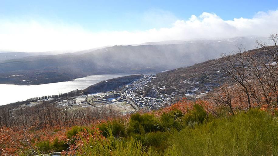 El Lago de Sanabria en invierno